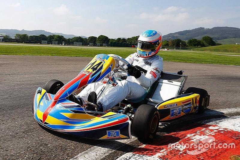 Alonso planea un nuevo campeonato de karting internacional