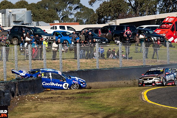 Supercars Webb slapped with $15,000 fine for Hazelwood crash