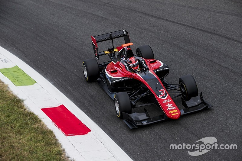Monza GP3: Russell wins spectacular three-way ART fight