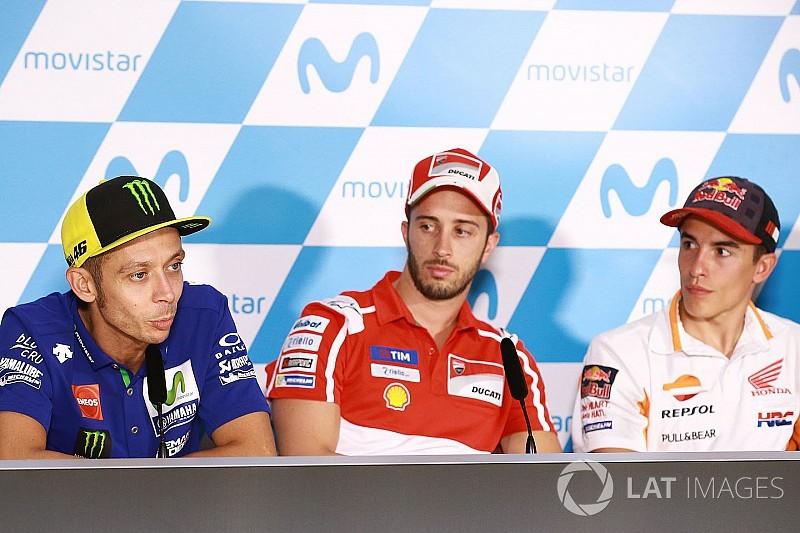 Dovizioso tak ketinggalan komentari Marquez-Rossi