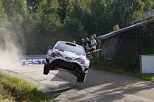 WRC Leg report Finland WRC: Lappi stays in front of three-way fight