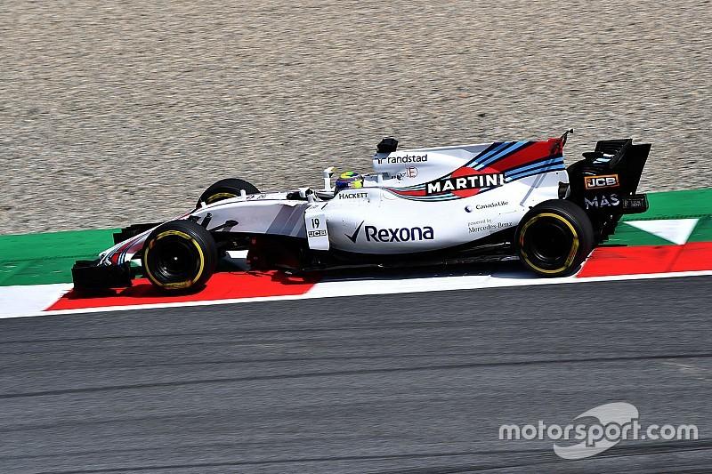 Massa quedó perplejo por la decepcionante actuación de Williams