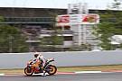 MotoGP La lluvia pospone al miércoles el test de Michelin en Montmeló