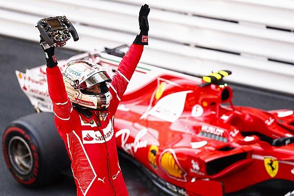 Tras su segundo triunfo en Mónaco, Vettel fue elegido piloto del día