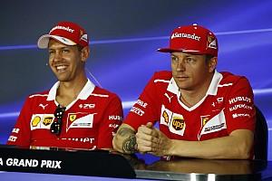 フェラーリ3年目のベッテル「ライコネンはベストなチームメイト」