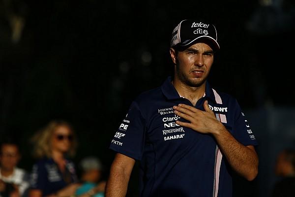 F1 佩雷兹在马来西亚大奖赛前输液抵御病毒