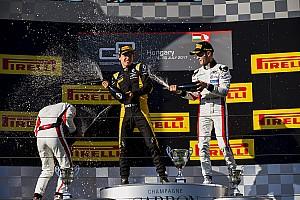 Victoria de Alesi en GP3