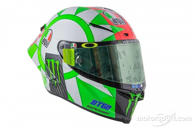 GALERIA: Rossi tem decoração 'tricolore' para GP da Itália