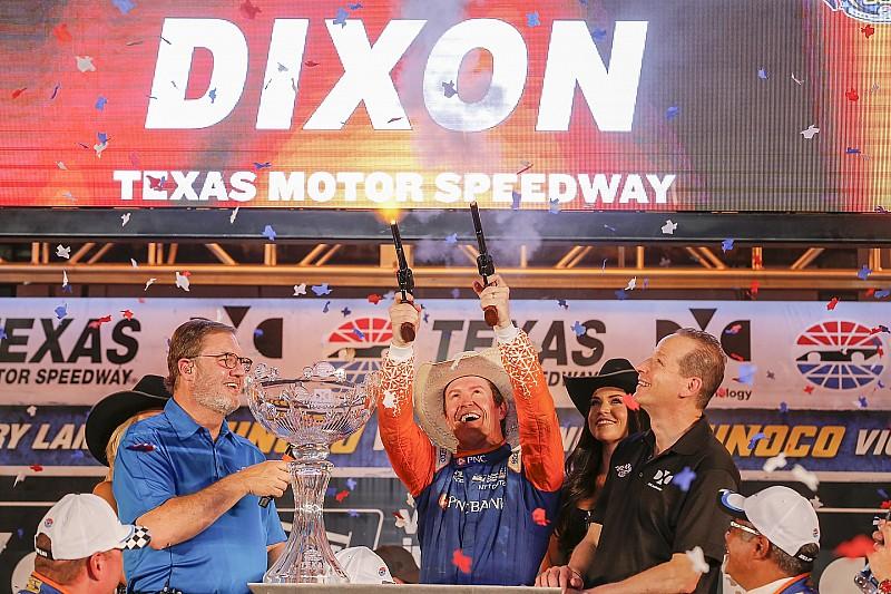 Texas IndyCar: Dixon 1. olarak şampiyonada liderliğe yükseldi