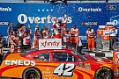 NASCAR XFINITY Kyle Larson goes from last to first for Xfinity win at Chicagoland