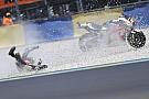 """MotoGP 予選で転倒のクラッチロー、""""重傷""""を免れるもレース出場は未定"""