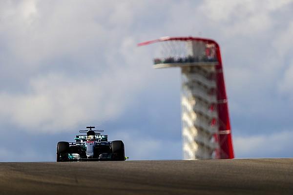 فورمولا 1  الأكثر تشويقاً بالصور: ترتيب شبكة انطلاق سباق جائزة الولايات المتّحدة الكبرى