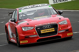 BTCC Breaking news Tordoff makes BTCC test comeback in AmD Tuning Audi