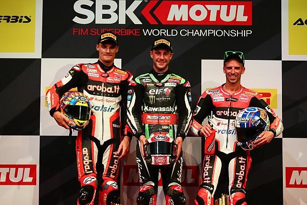 WSBK Репортаж з гонки WSBK, Лосейл: Рей здобув першу перемогу для Kawasaki на Лосейлі