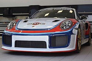 Automotive Breaking news Martini livery turns Porsche 911 GT2 RS into Moby Dick tribute