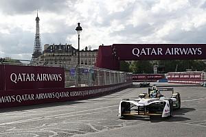 Formule E Verslag vrije training FE Parijs: Di Grassi snelste in VT2, opnieuw crash Piquet Jr.