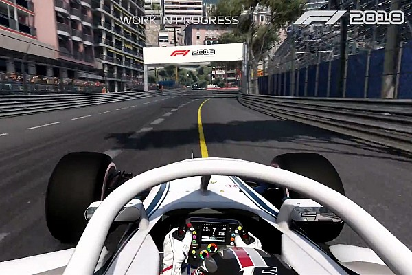 Formula 1 Breaking news First gameplay footage released for F1 2018