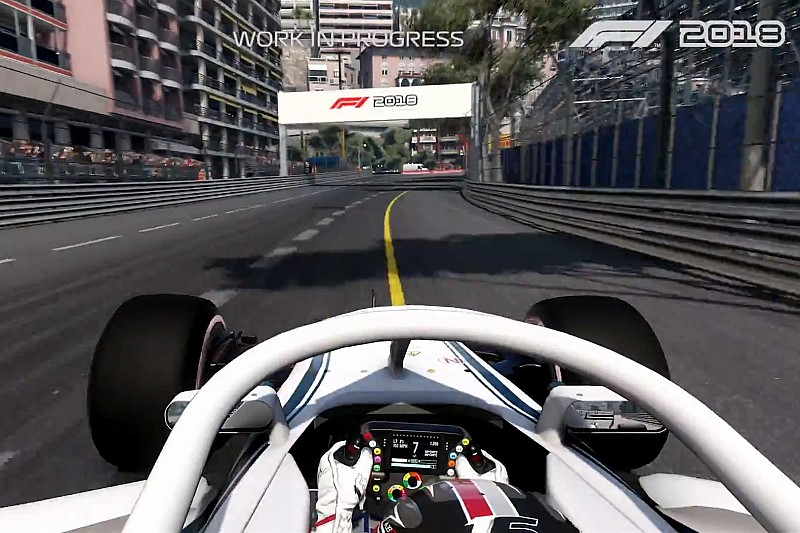 first gameplay footage released for f1 2018. Black Bedroom Furniture Sets. Home Design Ideas