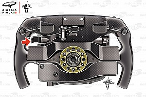 Zusatz-Wippe am Vettel-Lenkrad: Es bleibt mysteriös ...