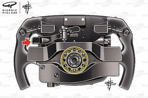 La mystérieuse troisième palette du volant Ferrari de Vettel