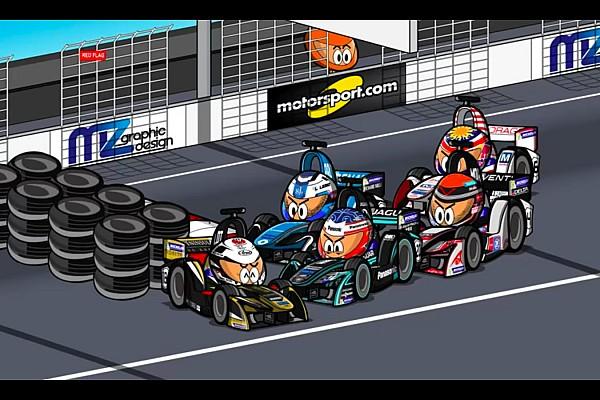 Fórmula E Vídeos: el ePrix de Hong Kong 2017/2018 de Fórmula E, por 'MinEDrivers'
