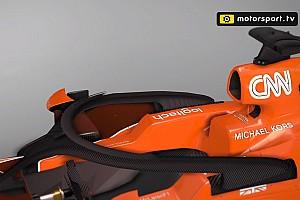 Vídeo: así es el 'Ángel', el Halo aerodinámico de McLaren