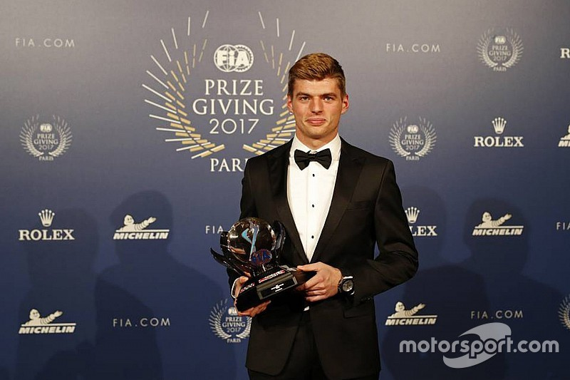 Verstappen wins third FIA Personality of the Year award