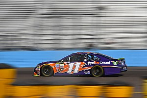 NASCAR Cup Race report Hamlin wins Stage 2 at Phoenix, Johnson and Larson find trouble