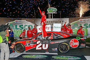 NASCAR XFINITY Race report Christopher Bell fends off Hemric for Xfinity Series win at Kentucky