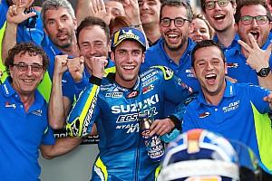 MotoGP Actualités Officiel - Álex Rins prolonge avec Suzuki