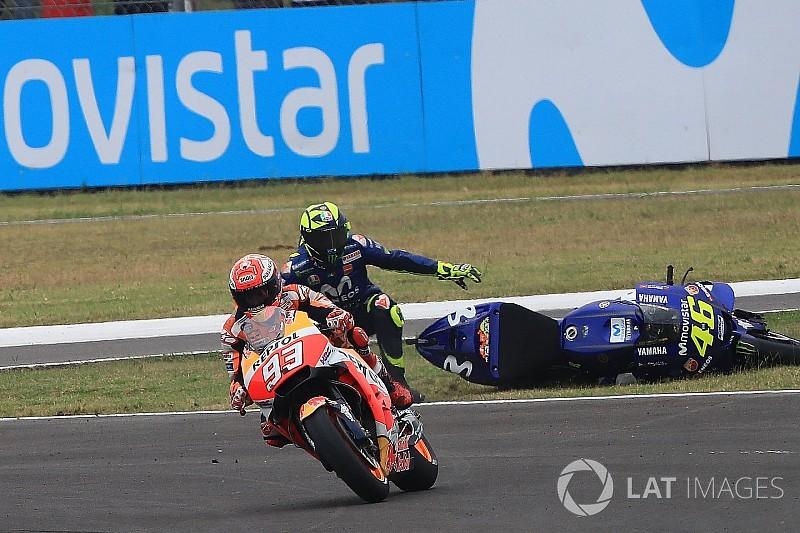 Лоренсо назвал действия судей причиной агрессивности гонщиков MotoGP