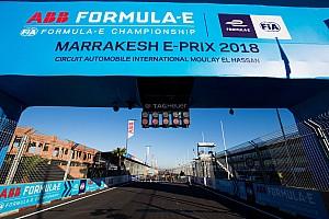 Formule E Motorsport.com nieuws Tóch minimumtijd voor wagenwissel in Marrakesh na succesvolle lobby