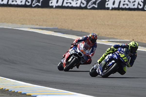 MotoGP Réactions Miller aurait bien voulu plus de tours pour rattraper Rossi!