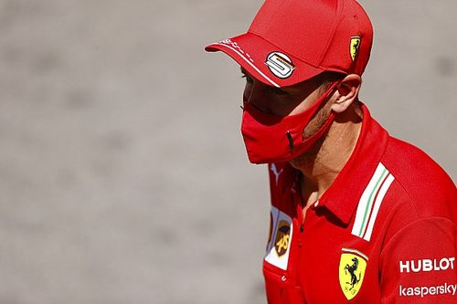 De decisão tomada sobre futuro, Vettel não se vê longe da Ferrari até o fim do campeonato