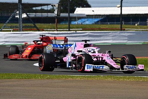 Ferrari en Renault zetten protest tegen Racing Point door