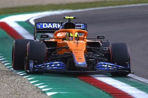 "Norris says he ""effed it all up"" in Imola qualifying"