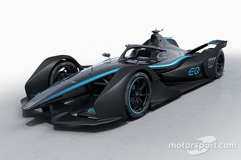 Mercedes показала ливрею своей машины Формулы Е