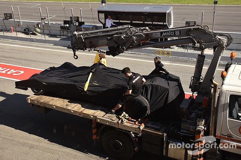 Engine setback hurt Mercedes' plans to evaluate new F1 aero parts
