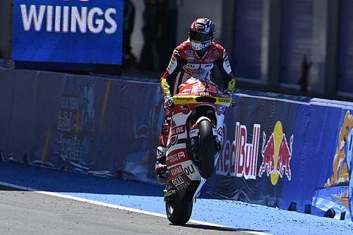 Moto2 - Jerez: Di Giannantonio gana y se lo dedica a Gresini