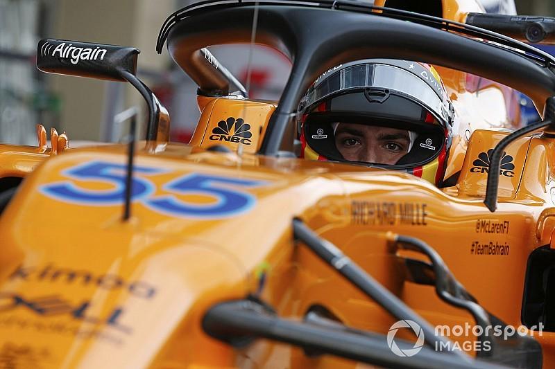 Sainz llega a McLaren