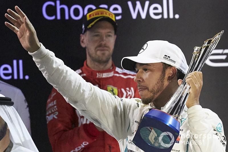 Hamilton domina 51% de era híbrida; Vettel apenas 13%
