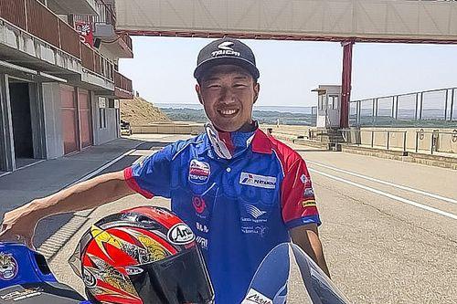 Moto2 Austria, Taiga Hada Wildcard bersama Pertamina Mandalika SAG