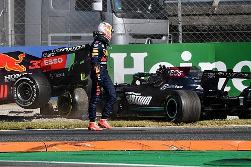 Verstappen gets penalty for Italian GP F1 incident with Hamilton