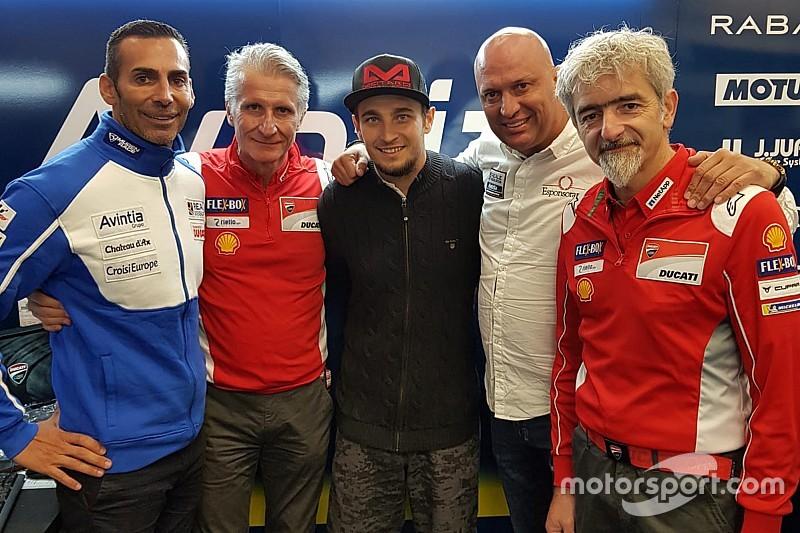 Абрахам підписав дворічну угоду з Avintia Ducati у MotoGP