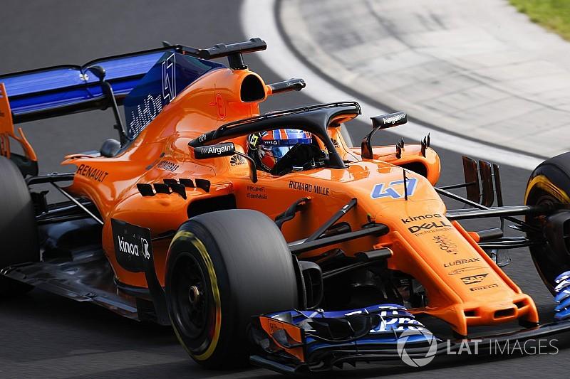 Norris substitui Alonso na McLaren no TL1 em Spa