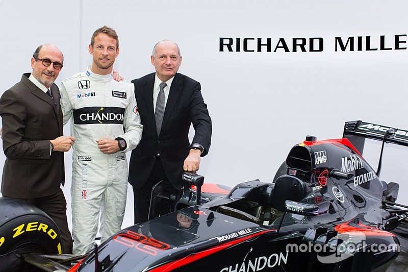 McLaren reemplaza a TAG Heuer con Richard Mille