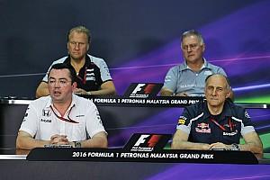Formula 1 Press conference Malaysian GP: Friday's press conference