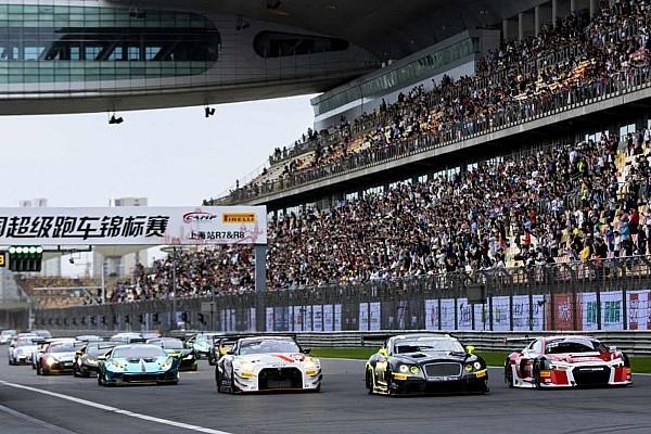 China GT年度收官战:宾利赛车展现实力,狂揽两回合冠军