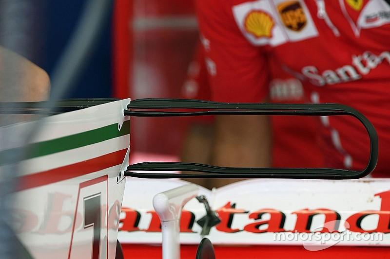 Технический брифинг: двойное T-крыло Ferrari SF70H