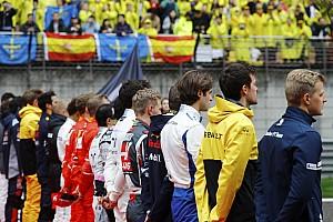 F1 Noticias de última hora Pérez y Ricciardo, sancionados por llegar tarde a la ceremonia del himno